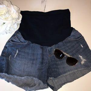 🆕 Maternity Jean Shorts